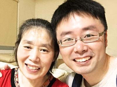 看著媽媽進步,心中喜悅難以表達 -傷友家屬 劉逸宏