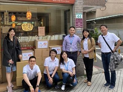 「偉創力」募二手書挺陽光!助傷友走出傷痛!Flex collects used books to support Sunshine